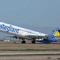 Allegiant Air Mcdonnell-douglas Md-83 N429nvmesa Gateway Airport Arizona March 11 2011 by Brian Lockett