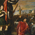 Allocution Of Marquis Del Vasto To His Troops by Titian