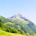 Alpine Mountain Peak Landscape. by Ilan Rosen
