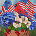 America The Beautiful-jp3210 by Jean Plout