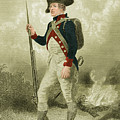 American Continental Soldier by Photo Researchers