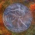 American Silver Eagle Dollar by Randy Steele