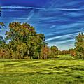 An Autumn Golf Day by Mountain Dreams