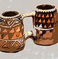 Anasazi Double Mug by David Lee Thompson