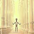 Ancient Alien Angel by Raphael Terra