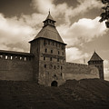 Ancient Walls. Sepia by Elena Ivanova IvEA