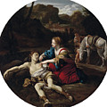 Angelica Nurses Medoro by Giovanni Lanfranco