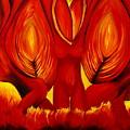 Angels Of Fire by Viviana Puello Villa