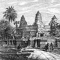 Angkor Wat, Cambodia, 1868 by Granger