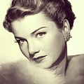 Anne Baxter, Vintage Actress by John Springfield