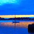 Annisquam Winter Twilight II by Harriet Harding