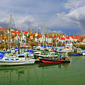 Anstruther Harbor by Marcia Colelli