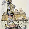 Anti-trust Cartoon, 1889 by Granger