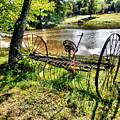 Antique Farm Equipment 1 by Jeelan Clark