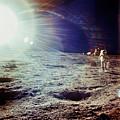 Apollo 12 Astronaut by Nasa