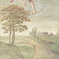 Apollo Slaying Coronis by PixBreak Art