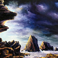 Approaching Storm by John Cocoris