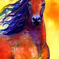 Arabian Horse 1 Painting by Svetlana Novikova
