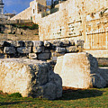 Archaeological Garden Southern Temple Mount by Thomas R Fletcher