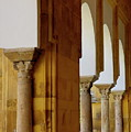 Arches Of The Patio De Los Naranjos In The Cathedral Of Cordoba by Sami Sarkis