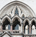 Arches Over The Court by Shirley Mitchell