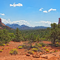 Arizona-sedona-soldier's Pass Trail by Arlene Waller