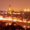 Arno River Florence Italy by Panoramic Images