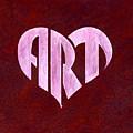 Art Heart by Dominic White