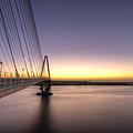 Arthur Ravenel Jr Bridge Sunrise by Dustin K Ryan