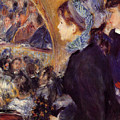 At The Theatre by Pierre-Auguste Renoir