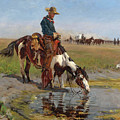 At The Watering Hole by Richard Lorenz