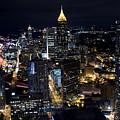 Atlanta Georgia - Evening Commute by Anthony Totah