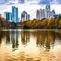 Atlanta - Usa by Luciano Mortula
