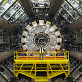 Atlas Detector, Cern by David Parker