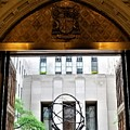 Atlas Thru The Doors Of St Pat's by Rob Hans