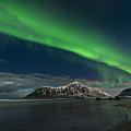 Aurora Borealis, Northern Lights by Jacek Kadaj