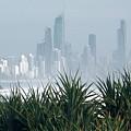 Australia - Surf Mist Shrouds Our View by Jeffrey Shaw