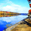 Autumn Afternoon On The Schuykill River by Marla McPherson