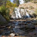 Autumn At Helen Hunt Falls Colorado by Steve Krull