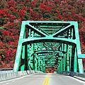 Autumn Bridge by Michael Rucker