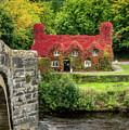 Autumn Cottage by Adrian Evans