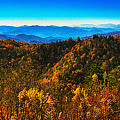 Autumn In The Smokies by Mark Fuge