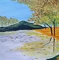 Autumn Landscape by Muniba Urooj