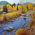 Autumn On The Truckee by Loreen Thomas