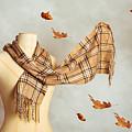 Autumn Scarf by Amanda Elwell