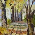 Autumn Street by Mabel Moyano