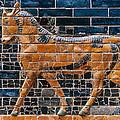 Babylon: Ishtar Gate 600 B.c by Granger