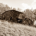 Back When Barn Sepia by Jennifer White