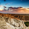 Badlands Np Pinnacles Overlook 4 by Donald Pash