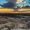 Badlands Np Wilderness Overlook 4 by Donald Pash